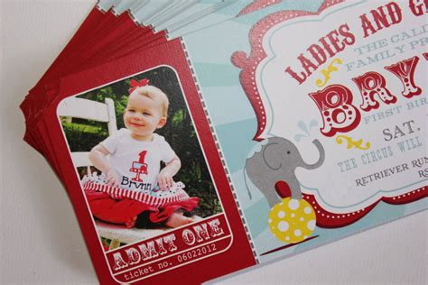 carnival birthday invitations circus baby shower