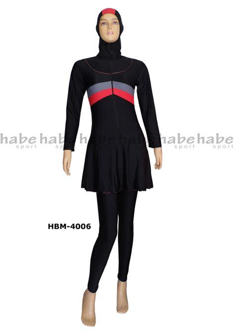 Baju Renang Muslim Untuk Dewasa baju renang muslimah dewasa hbm 4006 distributor dan toko jual baju renang celana alat selam