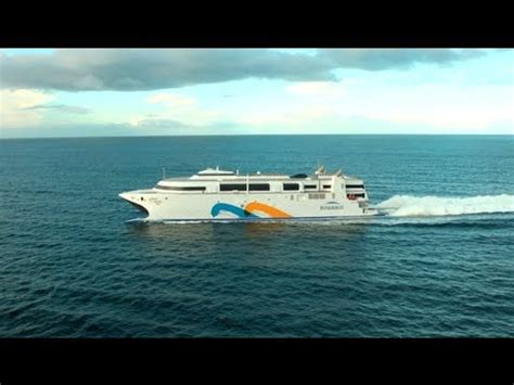 fastest catamaran ferry world s fastest ship incat s wave piercing catamaran