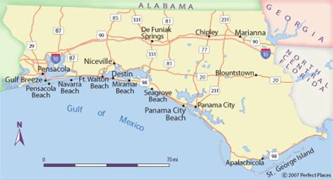 map of the panhandle of florida map of panhandle and west fl panhandle map uptowncritters