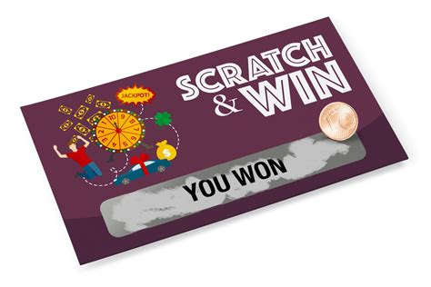 scratch card scratch cards print it s better value for money