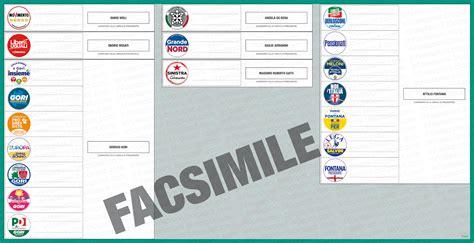 interno elezioni regionali info elezioni fac simile scheda elezioni regionali