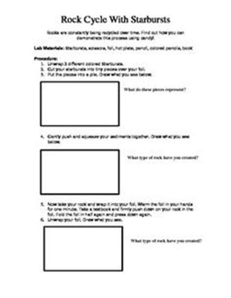 Rock Cycle Worksheet Middle School by Worksheets Rock Cycle Worksheet Middle School
