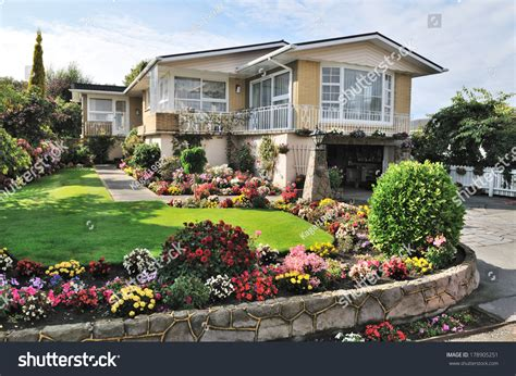 home flower beautiful home with beautiful flowers garden property