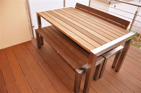 Holzmöbel Badezimmer by Sch 246 N Terrassen Moebel Design Ideen