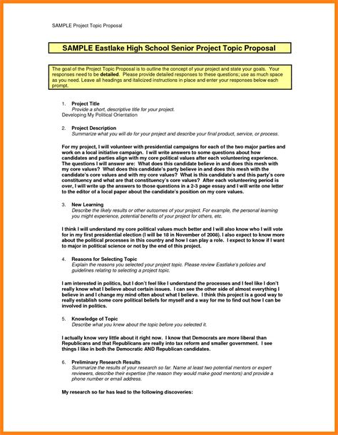 research proposal layout exle 9 template for writing a proposal for a project project