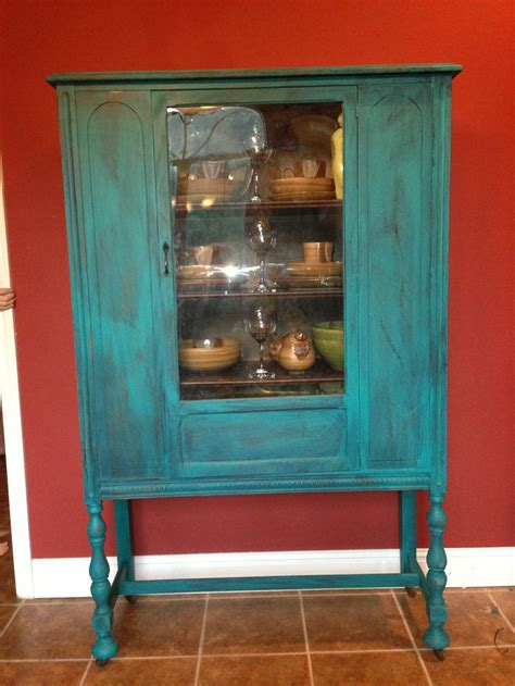 Distressed Turquoise Furniture by Turquoise Distressed Wood Furniture For The Home And Diy Turquoise Wood
