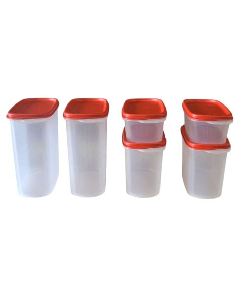 Tupperware Smart Saver Terbaru tupperware smart saver plastic container set of 6