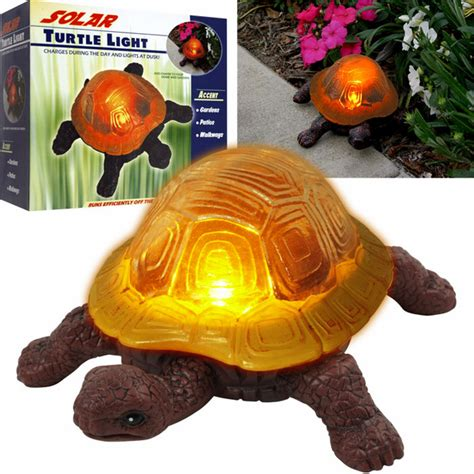 Solar Light Turtle Night Light Solar Turtle Light