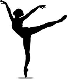 dancers silhouette free coloring pages of silhouette