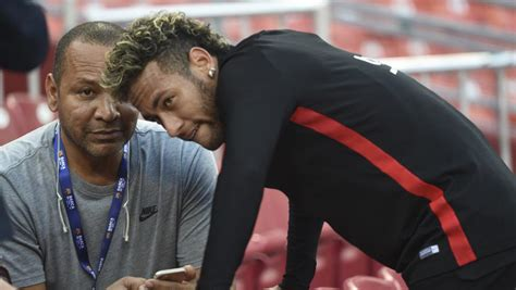 neymar father biography neymar s private meeting with his father agent after training