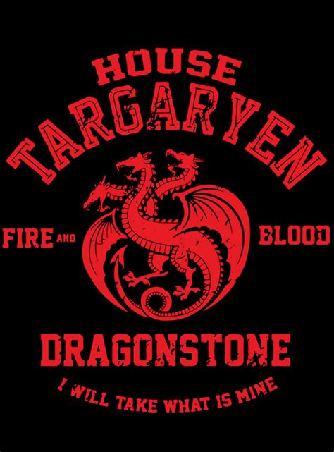 haus targaryen house targaryen of thrones epicwearinc