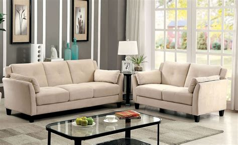 beige sofa and loveseat ysabel 2 pc sofa and loveseat in beige sofa sets