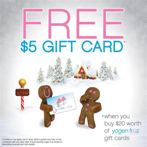 Free Gift With Purchasethis Just In From The Bod by Yogen Fr 252 Z Free 5 Gift Card When You Buy 20 Worth Of