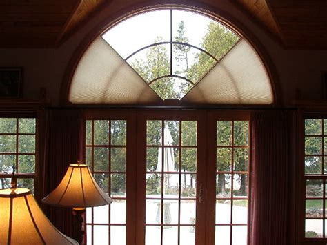 window covering for arched window arched windows modern window treatments chicago by