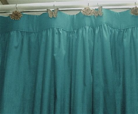 Teal Colored Shower Curtains Solid Teal Colored Shower Curtain