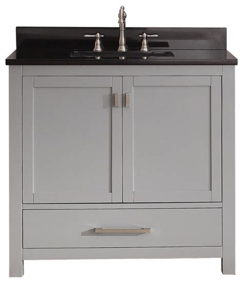 bathroom sink and vanity combo avanity modero 36 in vanity combo contemporary bathroom