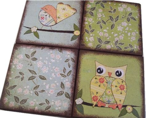 Decoupage Coasters - the world s catalog of ideas