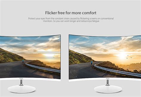Monitor Tcl tcl t24m6c 23 6 inch screen 1800r curved monitor 163 66