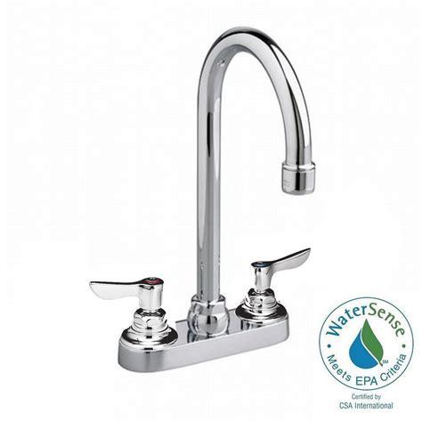 American Standard Gooseneck Faucet by American Standard Monterrey 2 Handle Bar Faucet In Chrome