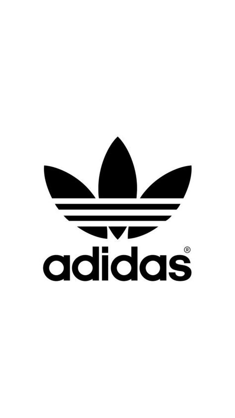 adidas wallpaper black and white adidas logo black white adidas pinterest adidas logo