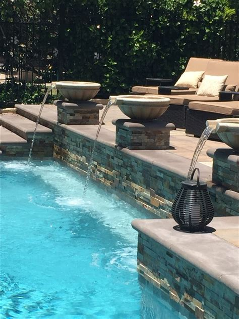 pool fountain ideas best 25 pool fountain ideas on pinterest lap pools