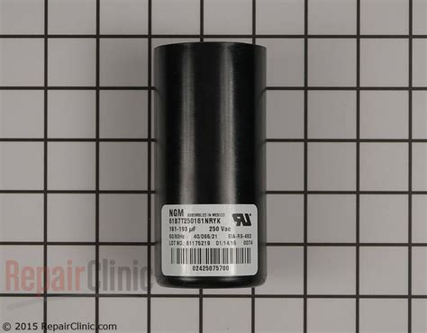 central air start capacitor start capacitor s1 02425075700 repairclinic