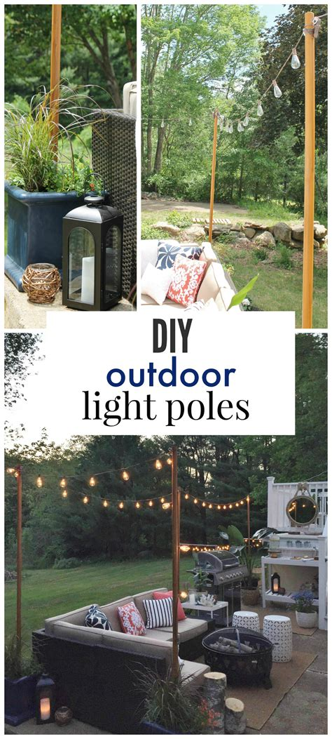 In Lite Landscape Lighting Diy Outdoor Light Poles City Farmhouse
