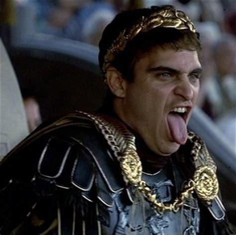 gladiator film emperor joaquin phoenix as commodus gladiator villains