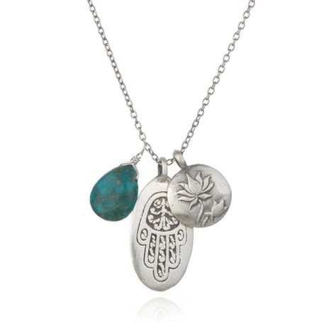 satya jewelry satya jewelry silver hamsa lotus