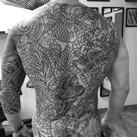 full back dragon tattoo designs 40 tiger designs for manly ink ideas