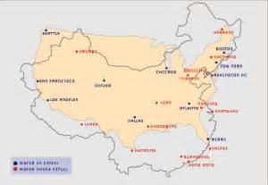 Usa China Map by Map Of China And Us Smith2china