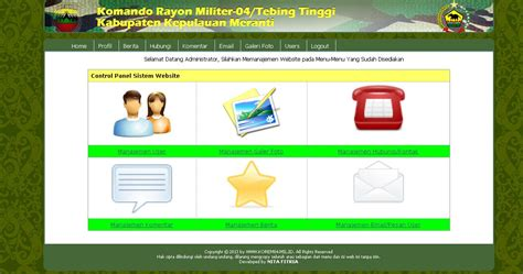 ebook membuat web dinamis dengan php source code website dinamis koramil php mysql