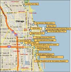 Chicago Sightseeing Map by Flickr Photo Sharing