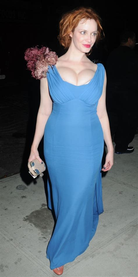 05 Dress Christine christine hendricks cleavage at 2010 costume institute gala in nyc adds hq 10pics 05 gotceleb