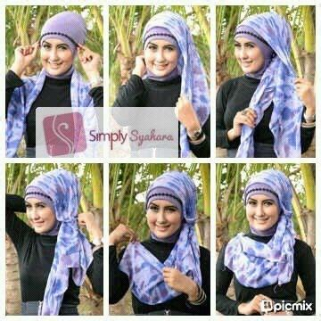 tutorial jilbab nabiilabee 17 best images about hijab stylista on pinterest muslim