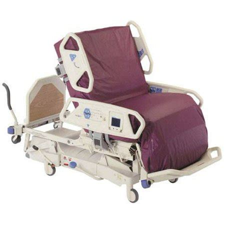 hill rom total care spo2rt hospital bed p1900 with air mattress and scale walmart