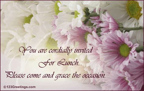 formal lunch invite  party invitations ecards