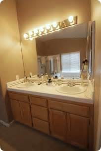 Before And After Bathroom Cabinets Budget Bathroom Makeover Linky Centsational