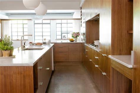 The New Kitchen Design Trend: Wood Minimalism   WSJ