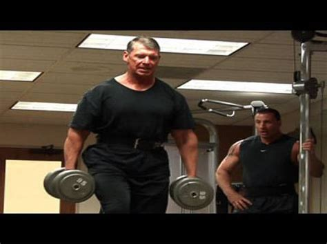 vince mcmahon bench press mr mcmahon s intense training session youtube