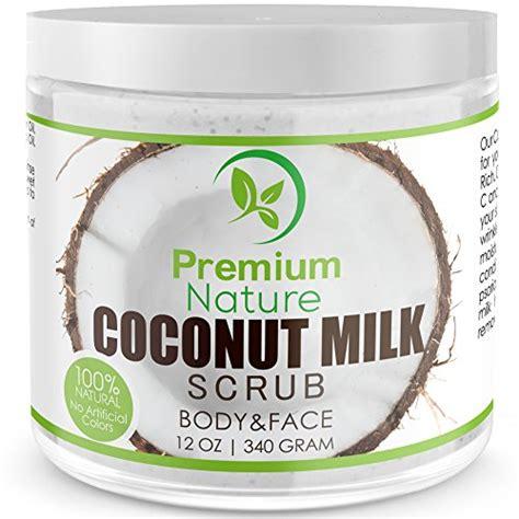 Scrub Milk Coconut coconut milk exfoliating scrub 12 oz for