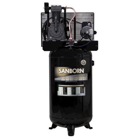 sanborn 174 80 galllon 2 stage air compressor at menards 174