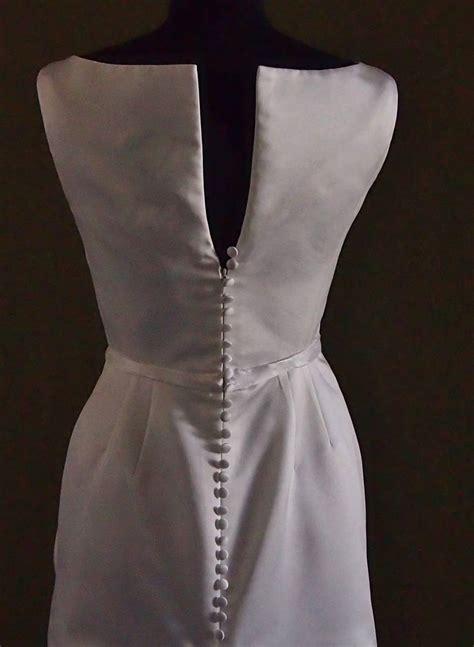 Edle Hochzeitskleider by Edles Hochzeitskleid Mit Knopfleiste In Ivory Gr 36 38