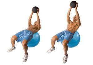 weighted ab exercises  carve   shredded  shape