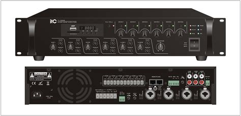 120w Mixer L Tone Controls Mxr For Address Pa 120xl itc audio address system audio conference