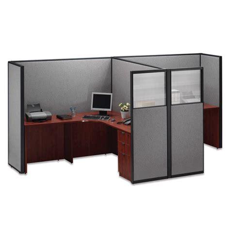 Solero Freestanding Office Desk Privacy Panel