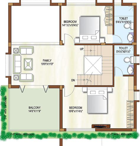 house map design 20 x 50 20 x 40 house plans west facing