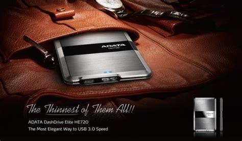 Adata He720 The Thinnest Portable Disk 1tb 1tb adata dashdrive elite he720 ultra slim 8 9mm usb3 0 titanium portable drive