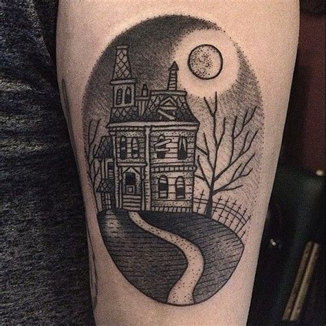 1000 ideas about house tattoo on pinterest haunted